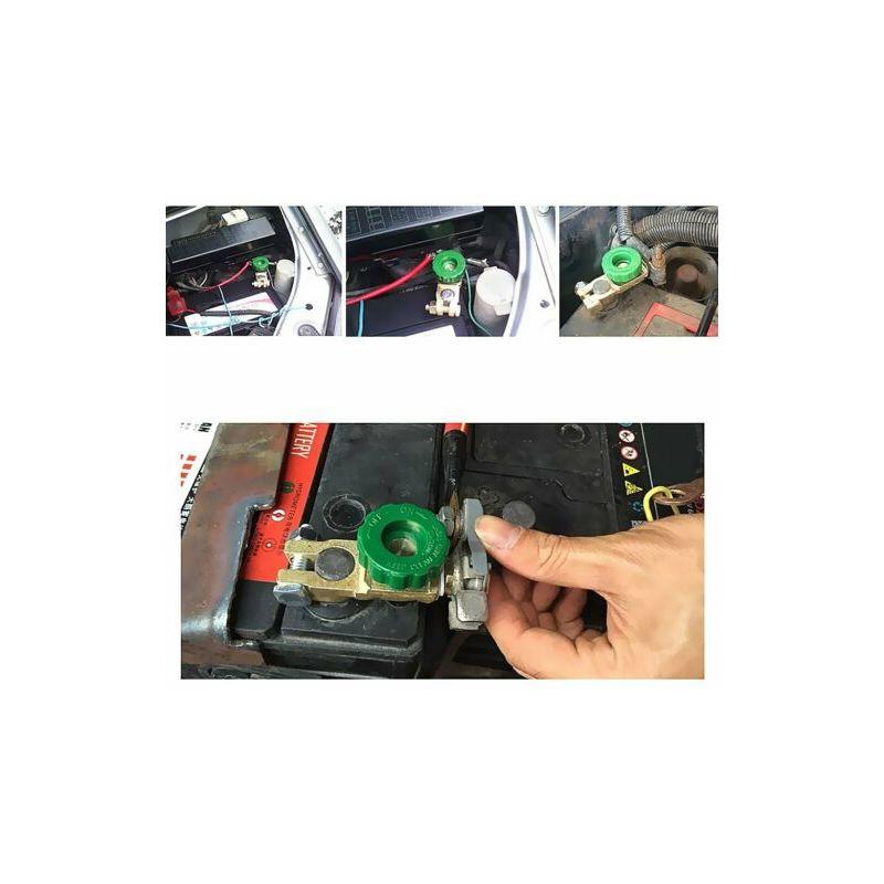 JUEGO DE 2 DESCONECTADORES DE BATERIA 12V 24V CAMION COCHE BARCO Interruptor de la bateria
