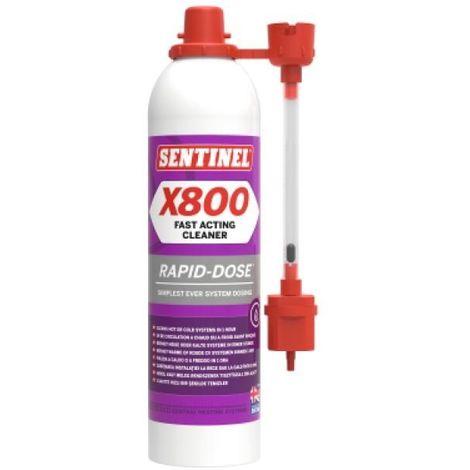 Désembouant et détartrant biodégradable X800 Rapid-Dose®, aérosol de 300ml