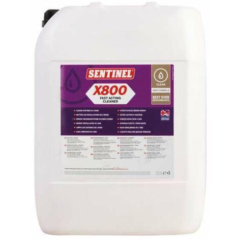 Désembouant Rapide X800 20l - SENTINEL : X800 20L FR