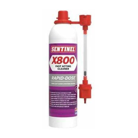 Désembouant rapide X800 - 300ml - Sentinel