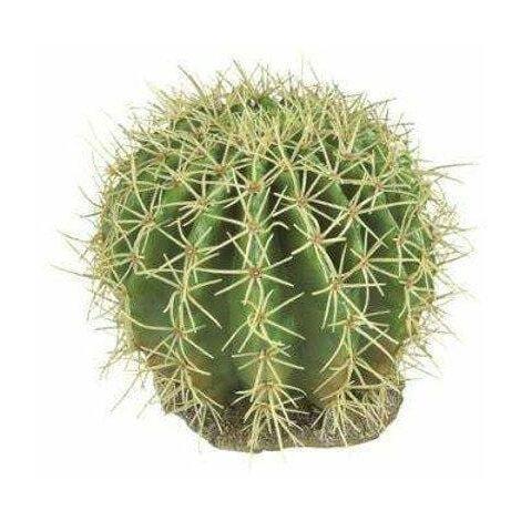 Desert Plant 11 - 13 X 12 X 14 H Cm. - Pianta Artificiale In Plastica E Resina Per Terrario