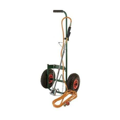 Desherbeur thermique 1800 avec chariot roue gonflable (fabrication ITALIE)