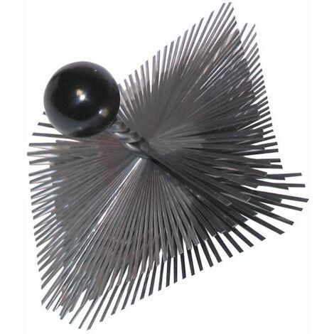 Deshollinador acero templado con bola 350 x 350 - DIFF