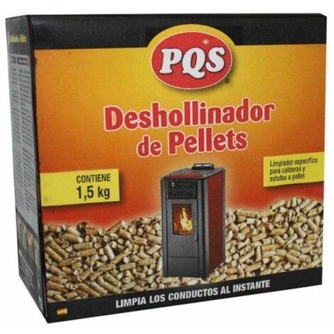 Deshollinador Estufa Caldera Pellet 1,5kg Pqs