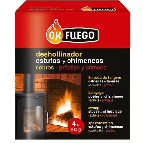 Deshollinador Estufa/Chimen 4X100 G - FLOWER - 50220..