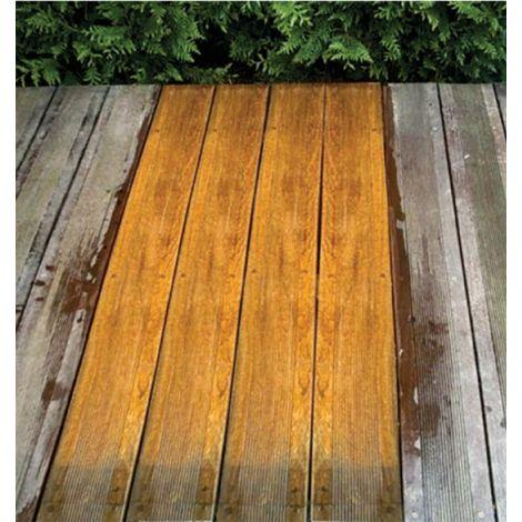 Madera restaurada y madera grisácea