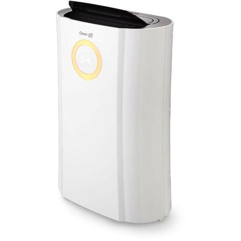 Deshumidificador y purificador de aire CLEAN AIR OPTIMA CA-704 / Hasta 40 m2 / 10l cada 24h / UV-C