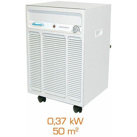 Deshumidificateur d'air mobile rexair 2500 T - 0,37kW - 50m²