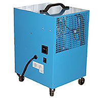 Déshumidificateur, débit 38litres/jour, capacité du réservoir N/A, niveau sonore 63dB(A)