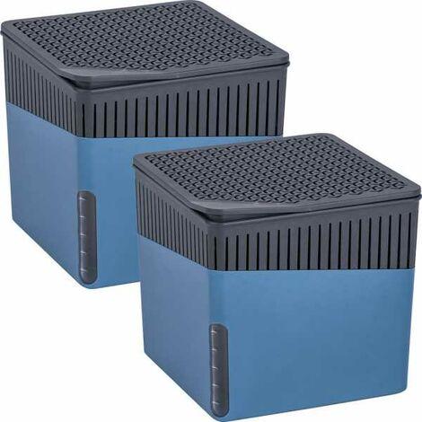 Déshumidificateur d'intérieur Cube 1000 g bleu