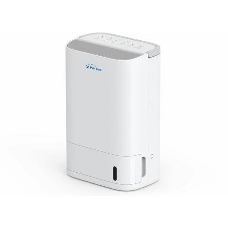 Déshumidificateur électrique 2.5L, silencieux, faible consommation, sans compresseur.Fonction de séchage du linge et filtre anti-poussière