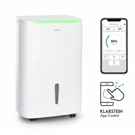 Déshumidificateur Klarstein DryFy Connect 40 compression 40l/d 35-45m² blanc