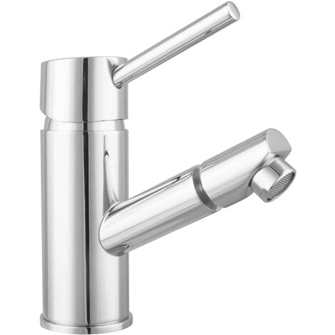 design Bidetarmatur rund Armatur Einhandmischer Messing