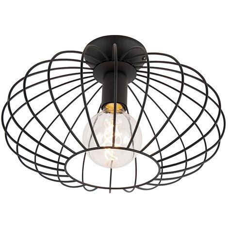 Design ceiling lamp black - Margarita