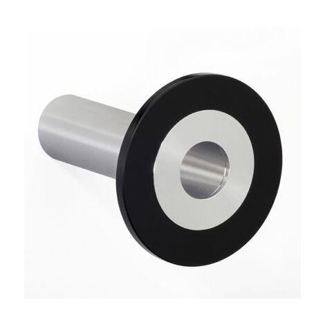 Design-Garderobenhaken POINT | Hakenlänge 100 mm | Schwarz | Pador