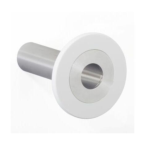 Design-Garderobenhaken POINT | Hakenlänge 100 mm | Weiß | Pador