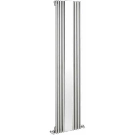 Design heizk rper vertikal einlagig mit spiegel wei for Design heizkorper vertikal