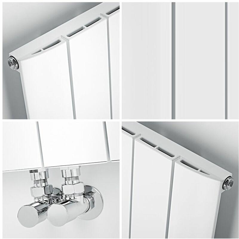 Gut bekannt Design Heizkörper Vertikal Einlagig Mittelanschluss - Aluminium QQ83