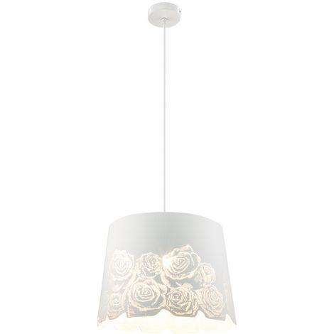Design Lampe suspendue avec des roses estampées pour votre salon