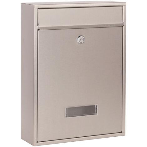 Design Mailbox V10 Stainless Steel Letterbox Postbox Letter Mail Box