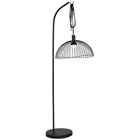 "main image of ""Design outdoor floor lamp black IP44 incl. LED RGBW - Mart Pua"""