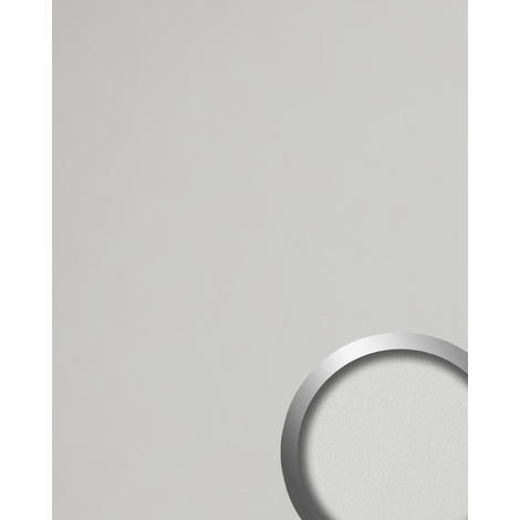 Design Panelling leather look WallFace 19303 WIMBORNE WHITE smooth Wall panel nappa leather look matt self-adhesive white pure-white 2.6 m2