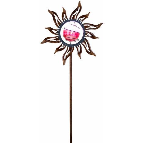 Design solaire de la rouille de la lumière solaire à LED