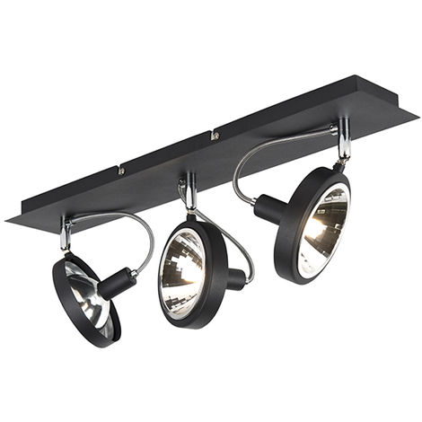 Design spot black 1-light adjustable - Nox