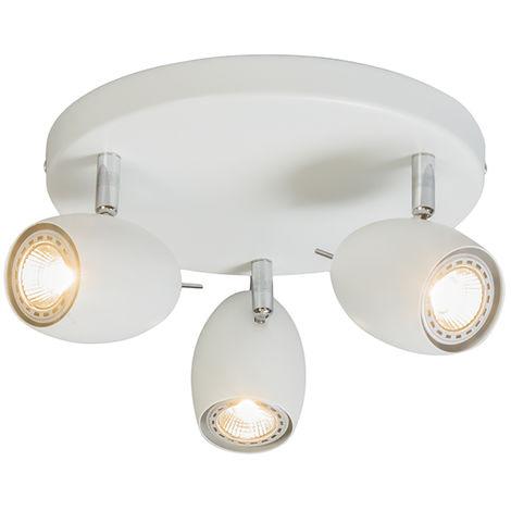 Design spot white round - Egg 3
