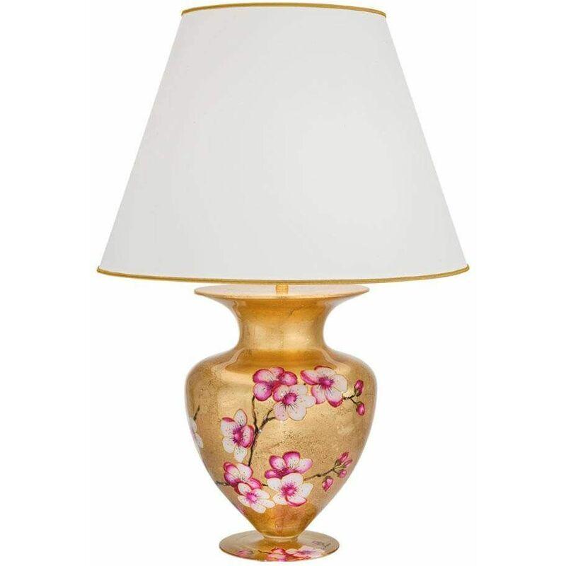 Image of 14-kolarz - Design table lamp ANFORA 24 Carats Gold Primavera