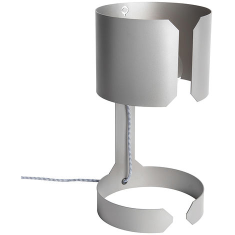 Design table lamp matt steel - Waltz
