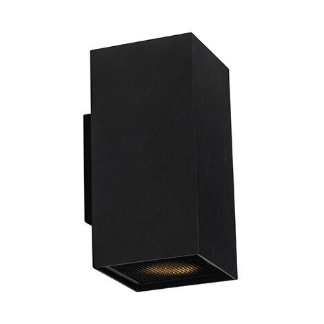 Design wall lamp black square - Sab Honey