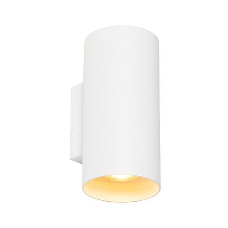 Design wall lamp white round - Sab