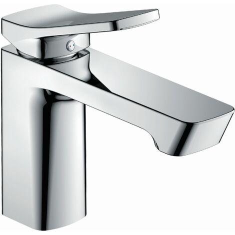 Design-Waschtischarmatur ALASKA, Chrom/Weiß , 34710