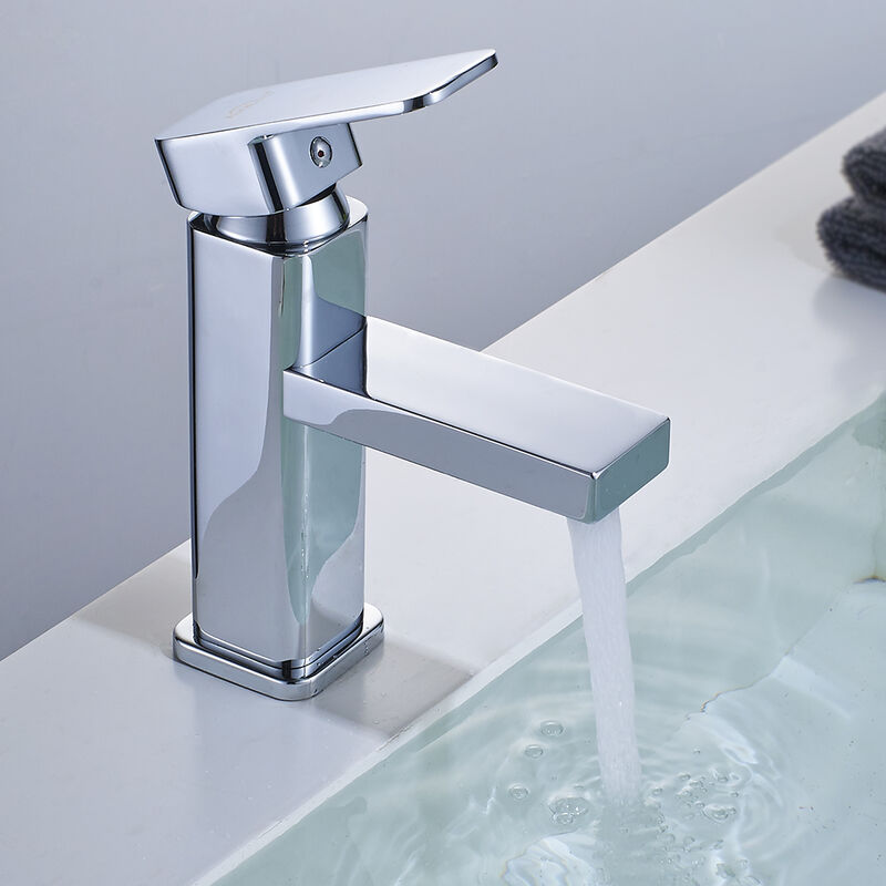 Gut gemocht Design Wasserhahn Bad Einhebel Mischbatterie Armatur verchromt f JG61