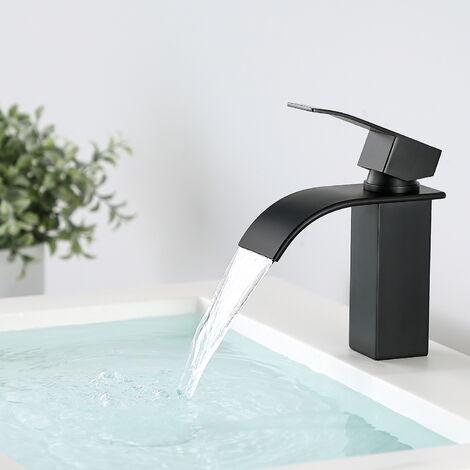 Design Wasserhahn Bad   Osmose Armatur Waschtischarmatur Einhebelmischer Mischbatterie   Waschbeckenarmatur für Badezimmer Waschbecken, Weiß
