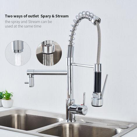 Bevorzugt Wasserhahn Ausziehbar Kuche XL91