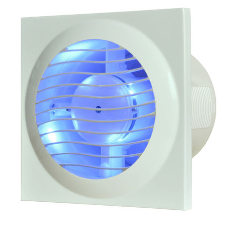 DESIGNAIR 4 pouces bleu LED r tro- clair