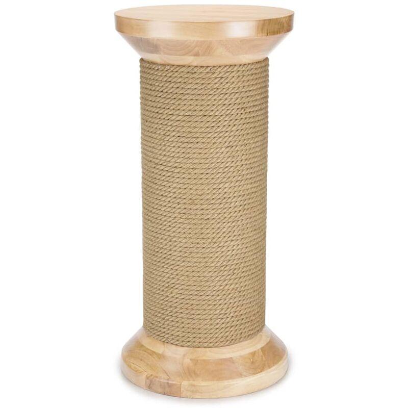 Designed by Lotte Bobine à gratter pour chats Kratsie 35x74 cm Bois