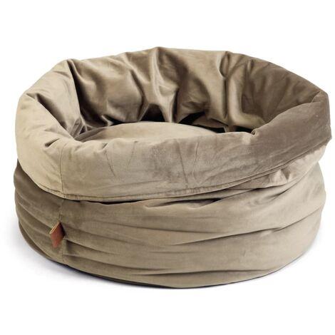Designed by Lotte Cesta para gatos FLUCO gris