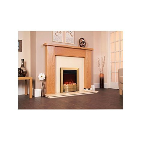 Designer Celsi Fire - Electriflame XD Essence Antique Brass 16''
