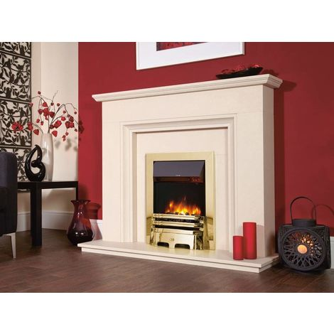 Designer Fire- Accent Traditional Brass 16''