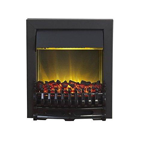 Designer Fire - Adam Blenheim Electric Fire in Black