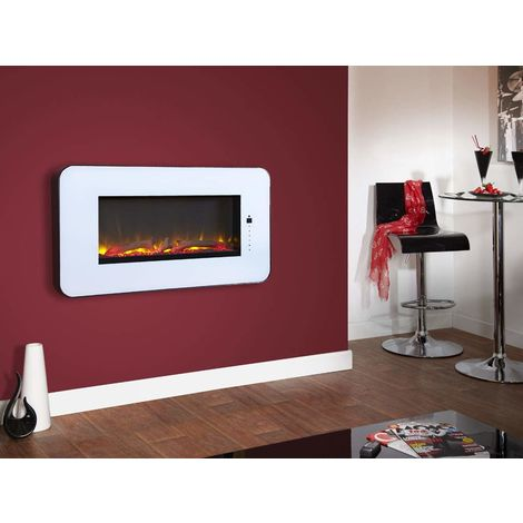Designer Fire - Celsi Touchflame White