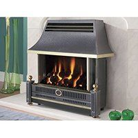 Designer Fire - FLAVEL FRECN0EN BLACK RENOIR GAS FIRE - EC
