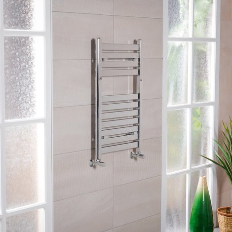Designer Flat Panel Heated Towel Rail Radiators - ALL SIZES - 10YR GUARANTEE