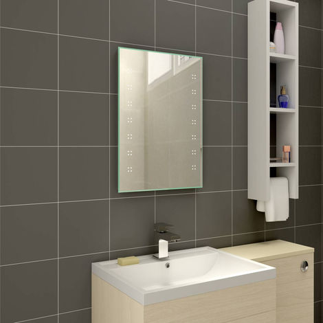 Designer Illuminated LED Bathroom Mirrors with Demister | Horizontal & Vertical