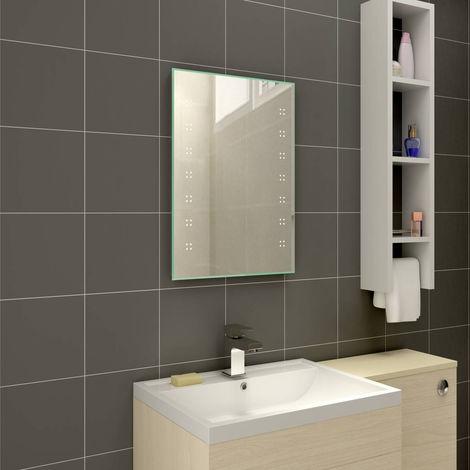 Designer Illuminated LED Bathroom Mirrors with Demister | Horizontal & Vertical