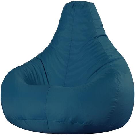 Designer Recliner Bean Bag - 100cm x 76cm - Indoor Outdoor Water Resistant Gamer Chair