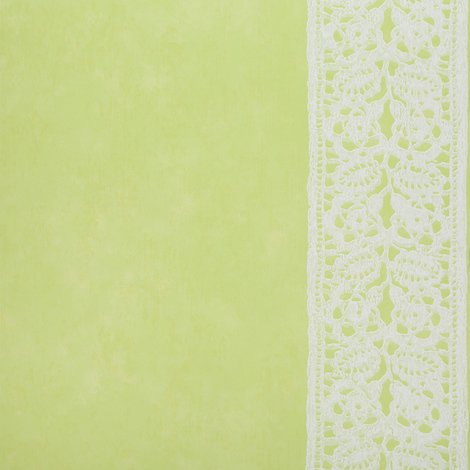 Designers Guild Flat Striped Cabildo Design Kitchen and Living Room Wallpaper Roll (Green P349-02)